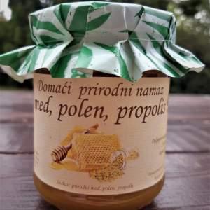 Prirodni med sa polenom i propolisom