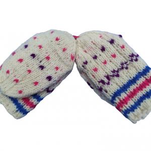 Vunene čarape dečije šarene